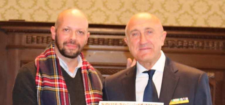 Dott. Enrico Liverani e Presidente GCA Dott. Giuseppe Curcella