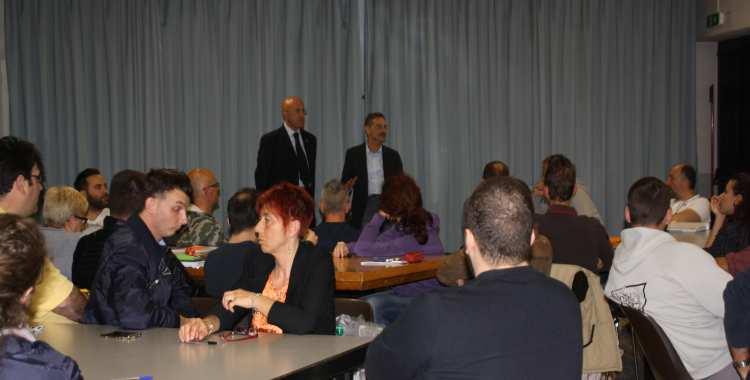Intervento del dott. Claudio Casadio, Presidente della Provincia, al test finale del Corso Volontari GCA