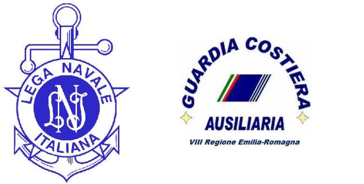 Guardia Costiera Ausiliaria Ravenna e Lega Navale - Loghi