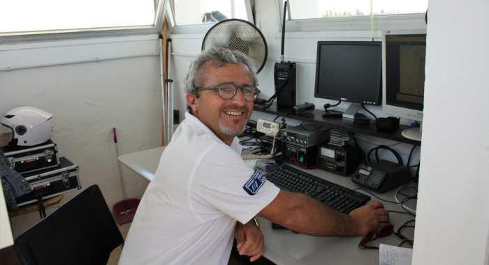 Piraccini - uno dei responsabili Sala Radio