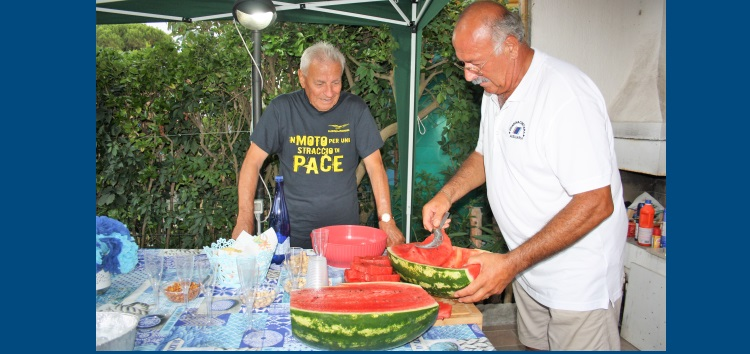 Il Decano della GCA Enzo Lodola e il Presidente