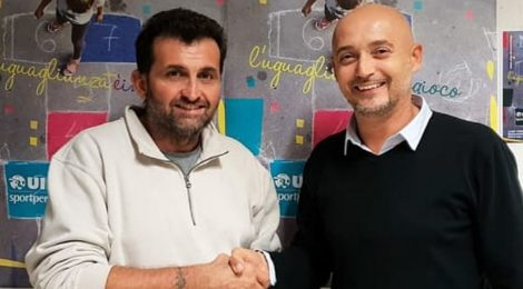 a sx Gabriele Tagliati nuovo Presidente UISP
