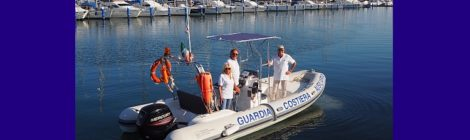 gommone Guardia Costiera Ausiliaria