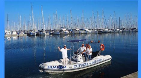 Gommone Guardia Costiera Ausiliaria