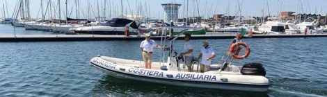 GCA primo servizio in mare 2019