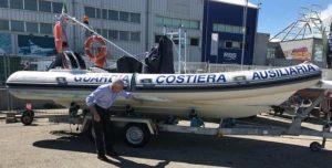 Inizio delle attività in mare della GCA