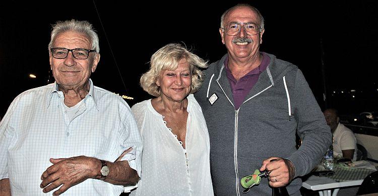 fra amici- con il Fondatore Lodola e il Presidente Angelini