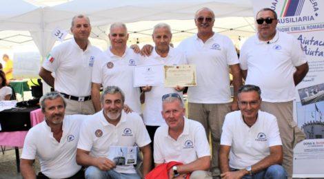 Enzo Lodola, premiato e Presidente Angelini