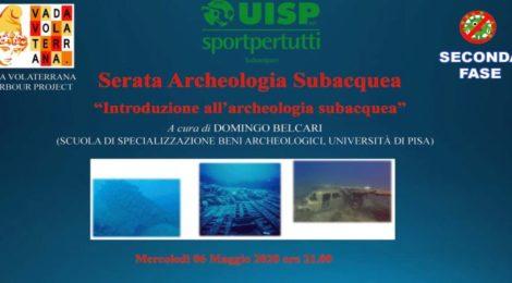 Serate online di Archeologia Subacquea