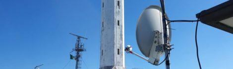 La Stazione Radio GCA si collega al satellite