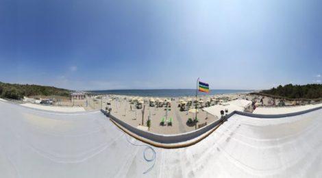 In funzione la seconda webcam della GCA a Marina Romea