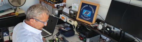 Piraccini in sala radio