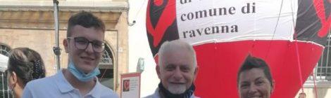 Raffaele Russo fra i premiati Noah Beltramin e Livia Meldolesi